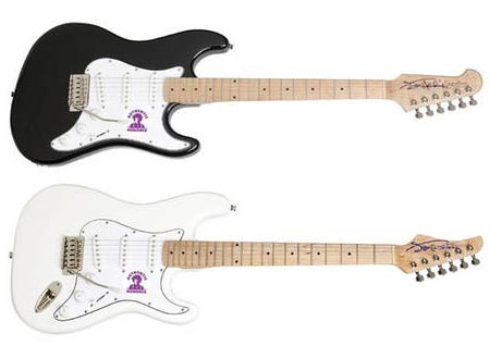 Gibson official Jimi Hendrix signature Strat guitars