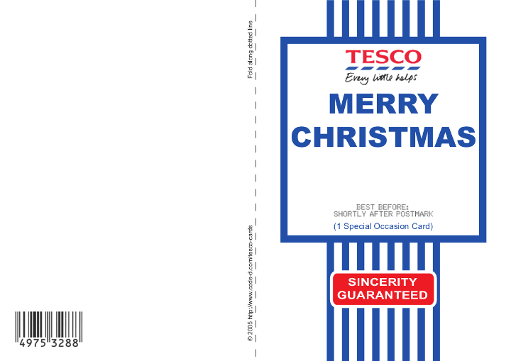 Tesco christmas cards christmas cards have already gone on sale in toxic web id call that a bargain bookmarktalkfo Images